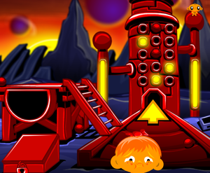 play Monkey Go Happy: Stage 278 Space Trouble