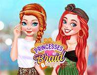 Princesses Braid Bloggers game