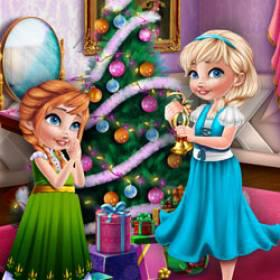 Sisters Christmas Room Prep - Free Game At Playpink.Com game