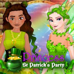 play Princess St Patrick'S Party