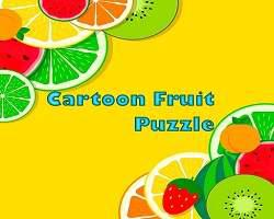 Fruit Cartoon Puzzle game
