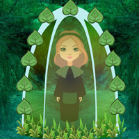 Deep Forest Girl Rescue game