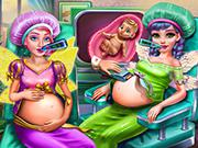 play Fairies Bffs Pregnant Check-Up