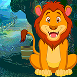 play Find Watching Lion