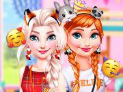 Princess Animal Dress-Up Party game