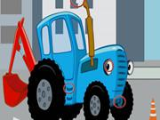 Blue Tractors Differences game
