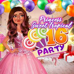 play Princess Sweet Tropical 16 Party