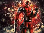 Deadpool Jigsaw game