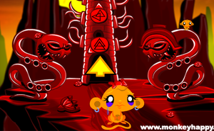 Monkey Go Happy: Stage 284 The Tower game