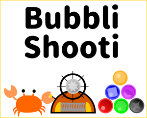 Bubbli Shooti game