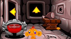 play Monkey Go Happy 287 – Dungeon Escape