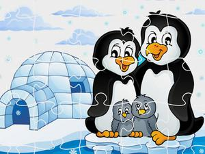play Penguins Jigsaw