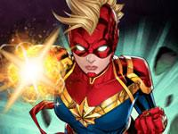 play Captain Marvel - Galactic Flight