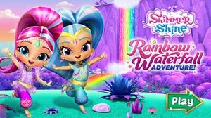 Shimmer And Shine Rainbow Waterfall Adventure game