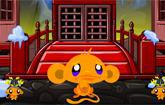 Monkey Go Happy Ninjas 3 game