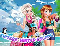 play Sisters' Winter Escape