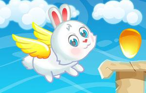 Flying Easter Bunny game