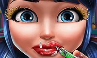 play Dotted Girl Lip Injections