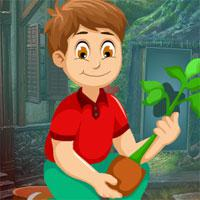 Games4King Plants Lover Rescue Escape game