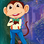Gentle Monkey Rescue Game_P game
