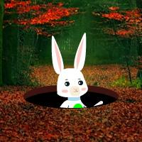 G2R Easter Bunny Autumn Forest Escape game