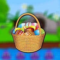 Find The Easter Eggs Bag game