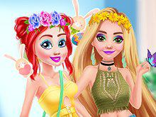 play Princess Easter Bunny Party