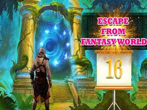 play Escape From Fantasy World Level 16