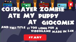 play Zombie Cosplayer Ate My Puppy At Giocomix
