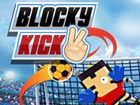 play Blocky Kick 2