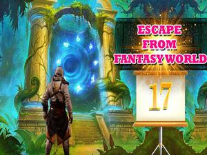 play Escape From Fantasy World Level 17