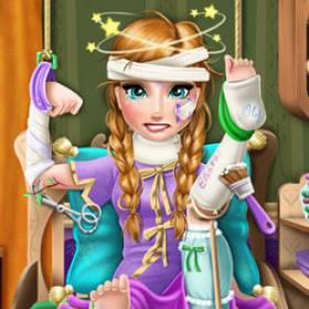 play Ice Princess Hospital Recovery - Free Game At Playpink.Com