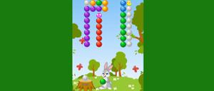 Rabbit Bubble Shooter game