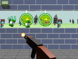 Zombie Target Shoot game