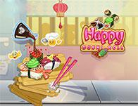 play Happy Sushi Roll
