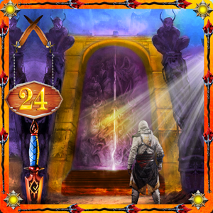 play Escape From Fantasy World Level 24