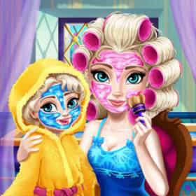play Ice Queen Mommy Real Makeover - Free Game At Playpink.Com