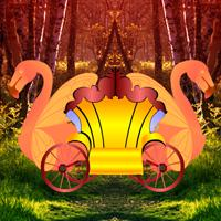 play Fantasy Swan Cart Escape