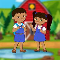 play Avmgames School Boy And Girl Escape