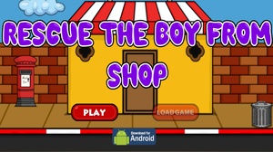 play G2J Rescue The Boy From Shop