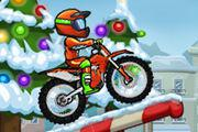 Moto X3M: Winter game