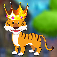 Forest King Tiger Rescue game