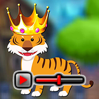 Forest King Tiger Rescue Game Walkthrough game