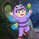 Butterfly Boy Rescue game