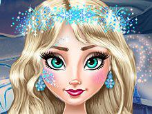 Ice Queen Real Makeover game