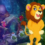 play Grumpy Lion Escape Game
