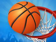 Flick Basketball game