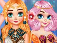 play Princesses Become Magical Creatures