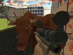 Crazy Bull Attack game
