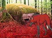 play Red Wolf Forest Escape